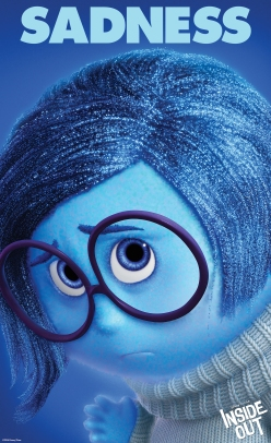 """""""INSIDE OUT"""" (Pictured) SADNESS. ©2014 Disney•Pixar. All Rights Reserved."""