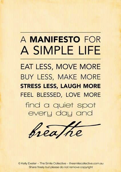 Image result for living with less