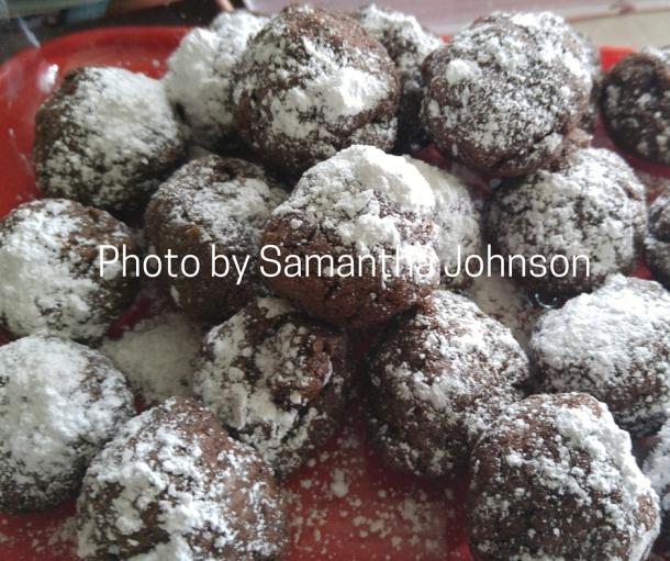 Chocolate Fudge Cookie Bites
