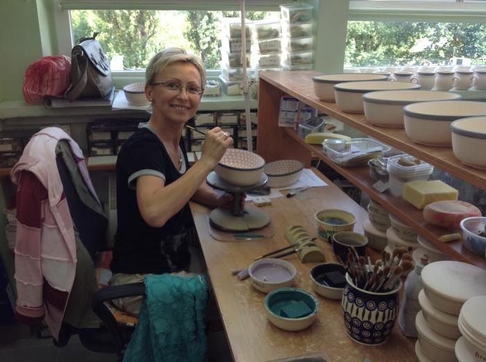 Acorn Farm Polish Pottery being made 2